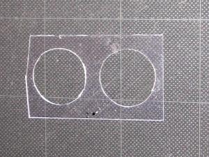 メーター調整板