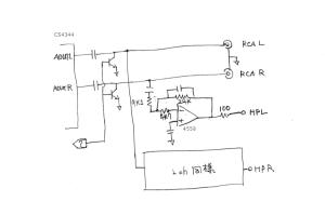 白箱DAC 回路図